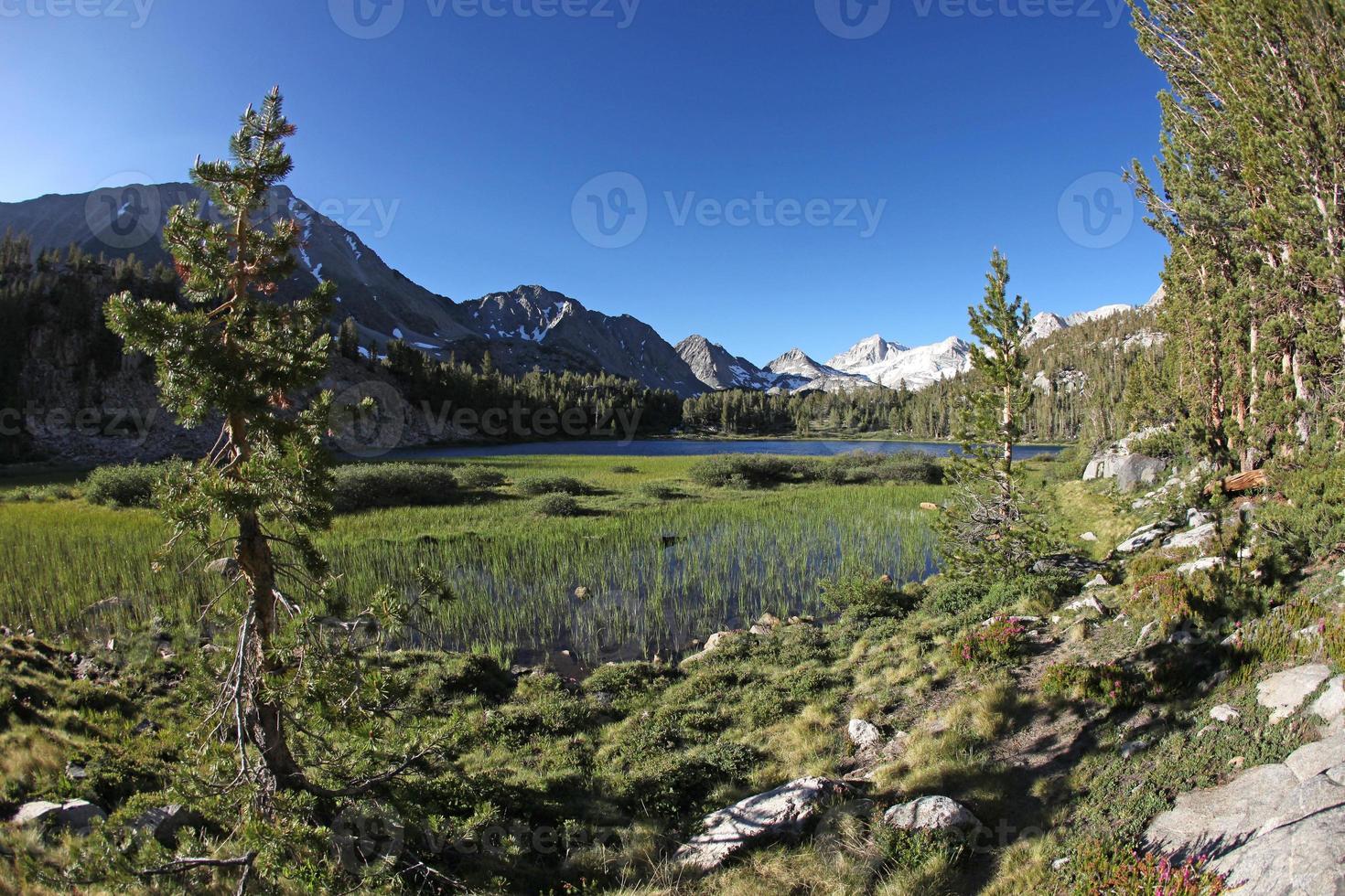 sierras orientales au lac heart photo