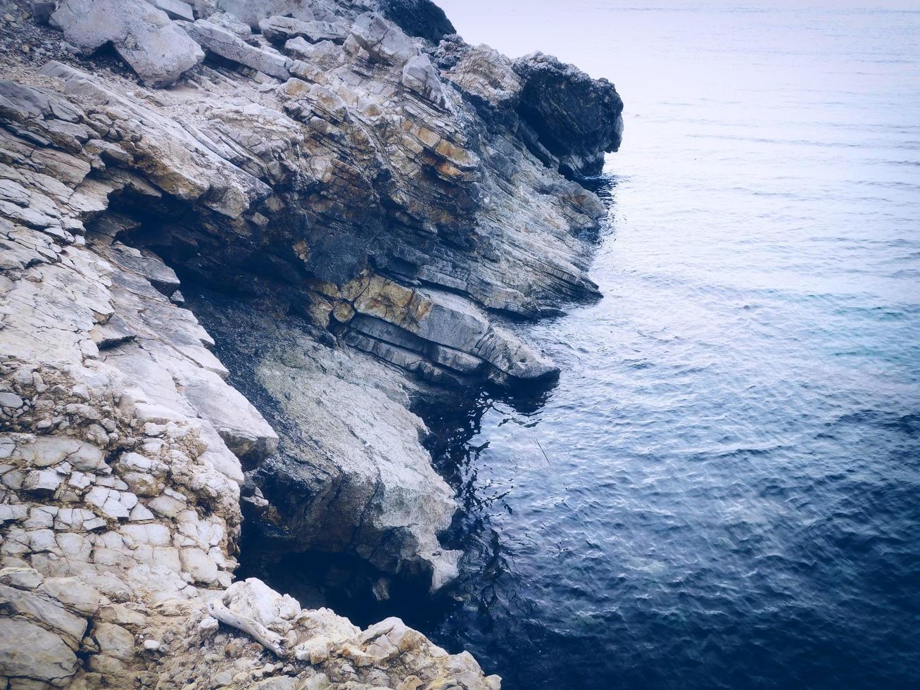 mer en plein air le jour photo