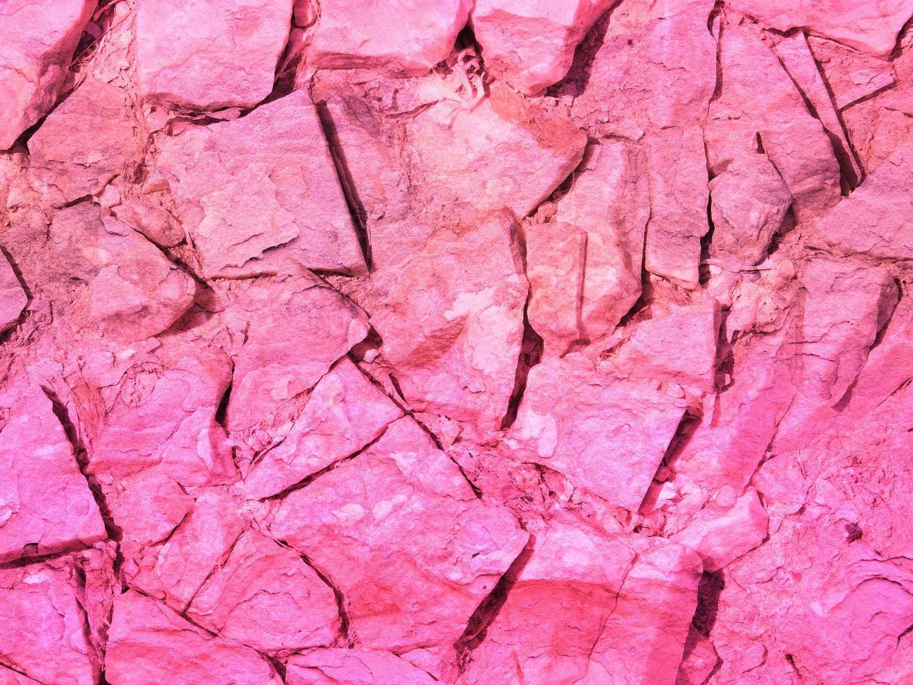 texture de pierre rose photo