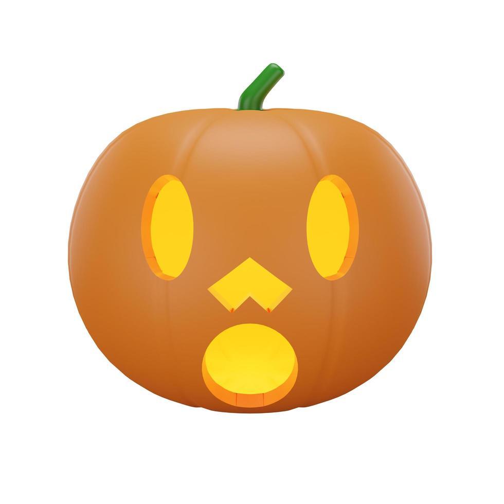 citrouille avec concept halloween photo