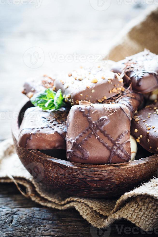 biscuits au chocolat photo
