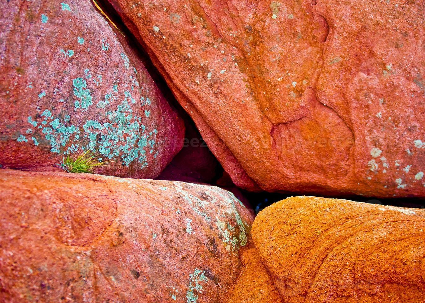 lieu de rencontre des roches rouges photo