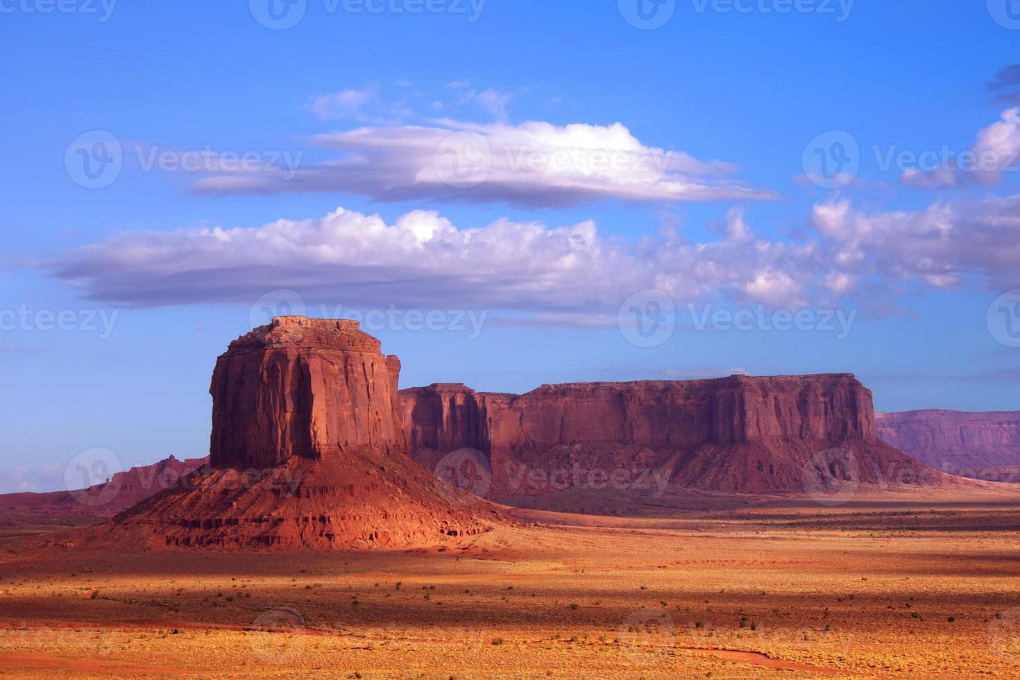 formations rocheuses de monument valley photo