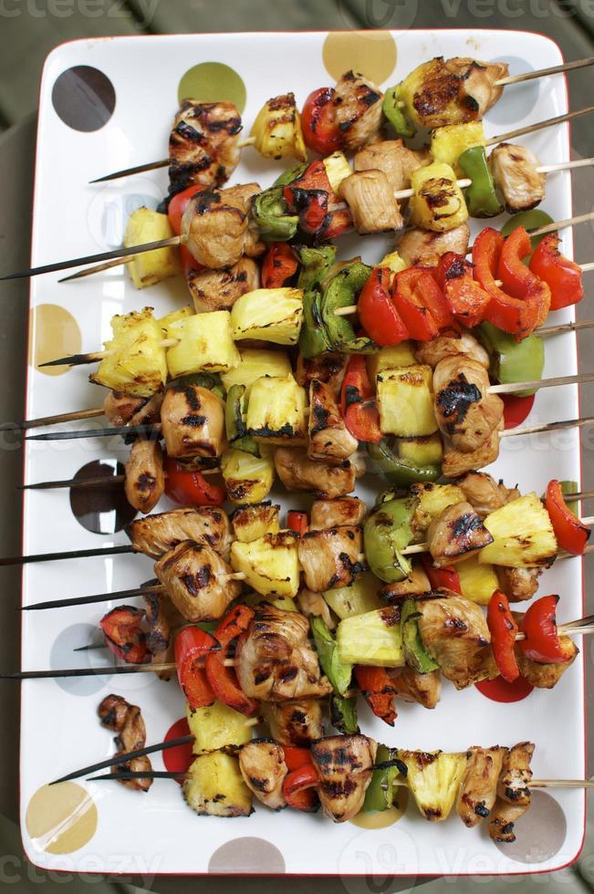 Kebabs de poulet photo