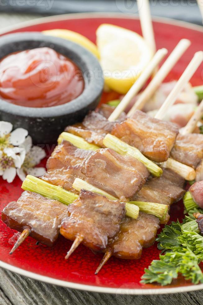 kushiyaki (く し や き) photo