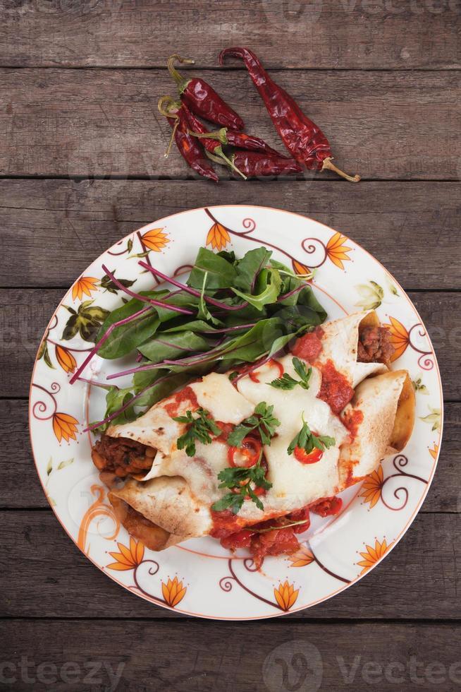 enchilada mexicaine photo