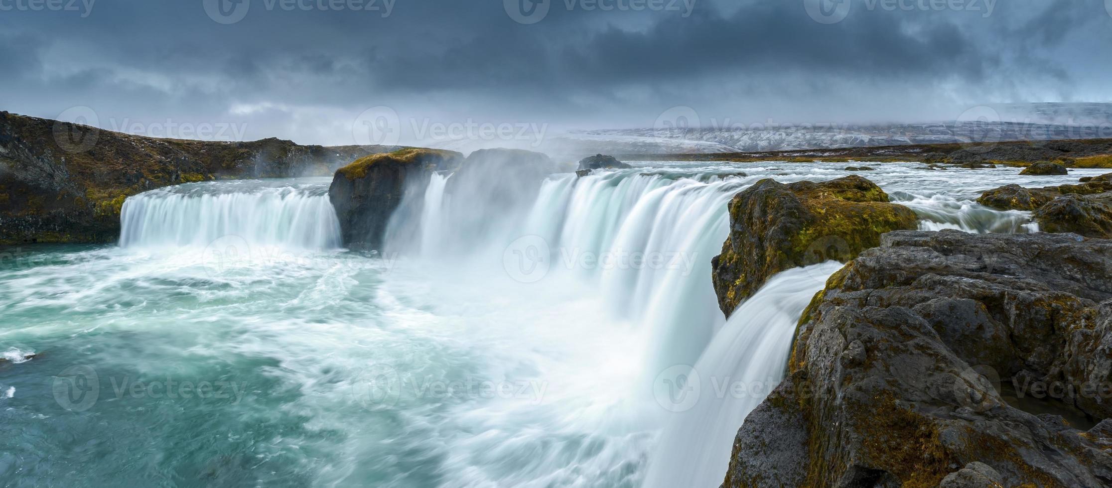 godafoss, nord de l'islande photo