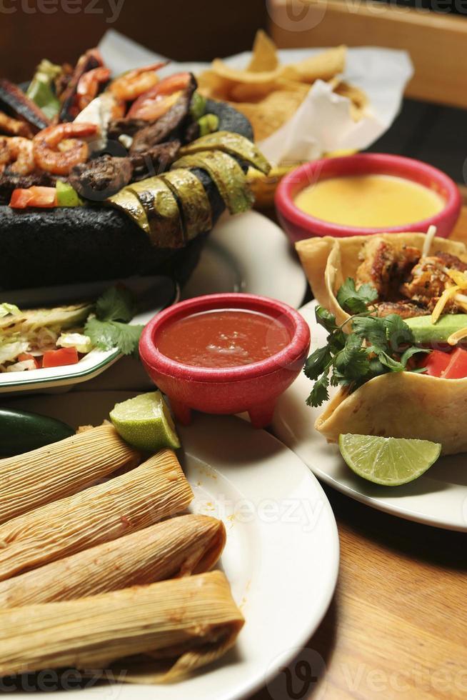 cuisine mexicaine - vertical photo