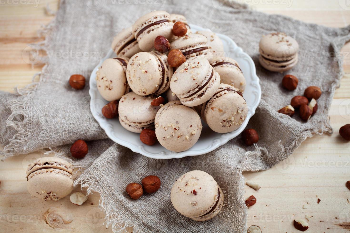 cuisson des macarons photo