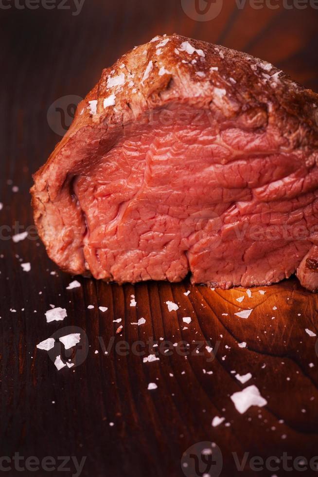 steak écossais grillé photo