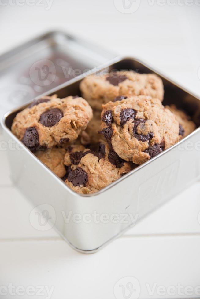 gâteaux avec des pépites de chocolat photo