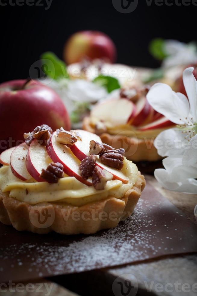 tartelettes aux pommes photo