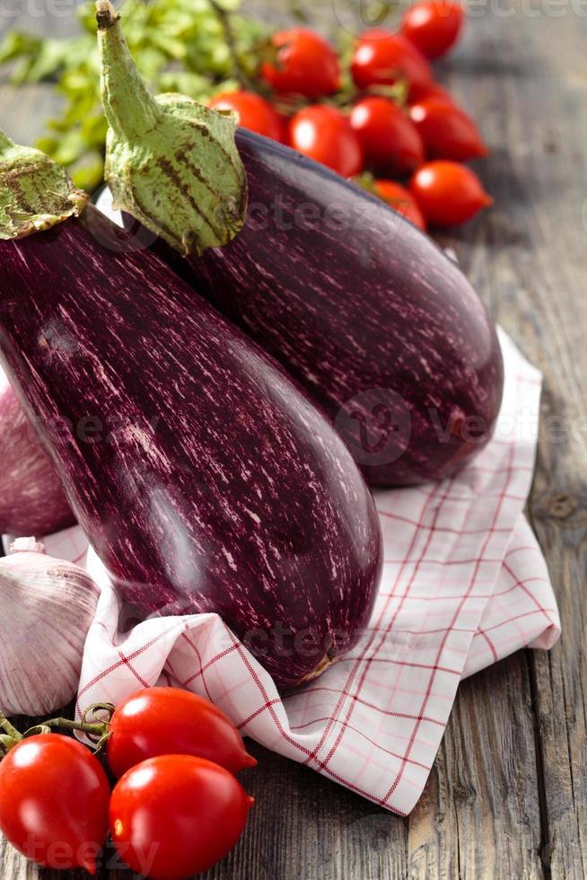 aubergines. photo
