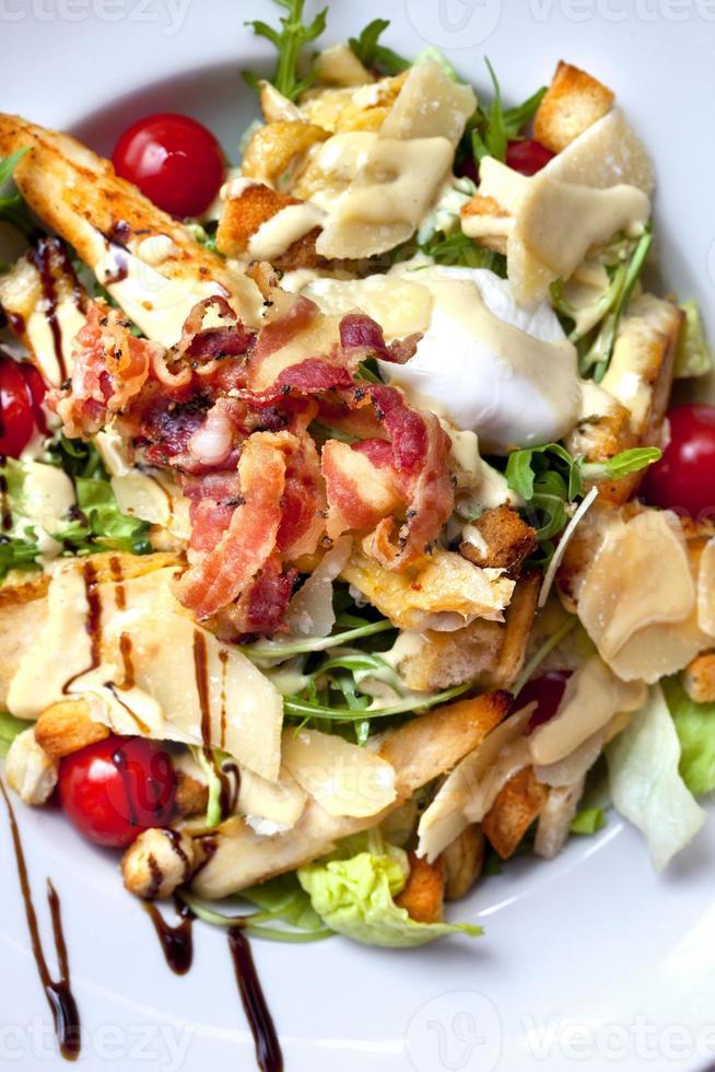 Salade composée photo