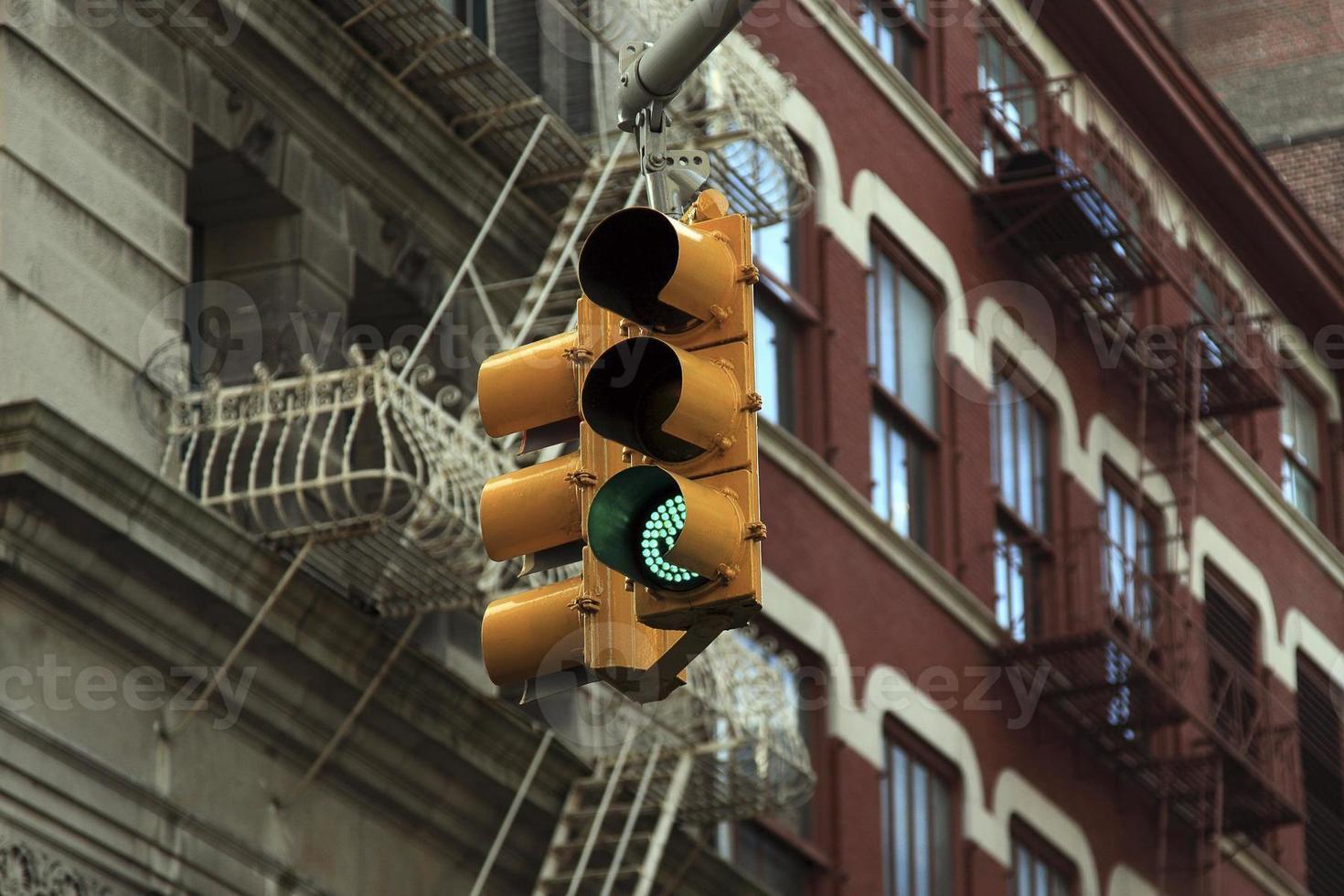 feu de circulation, new york city photo