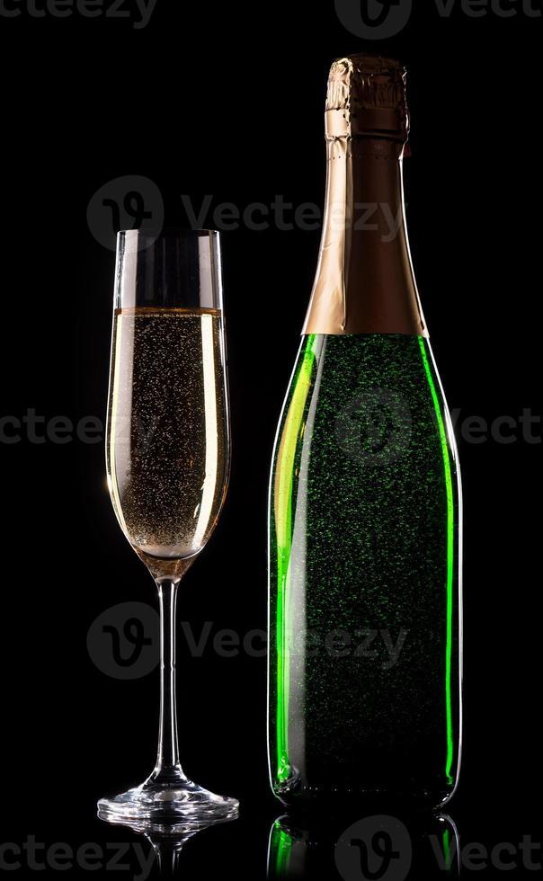 champagne de fête photo