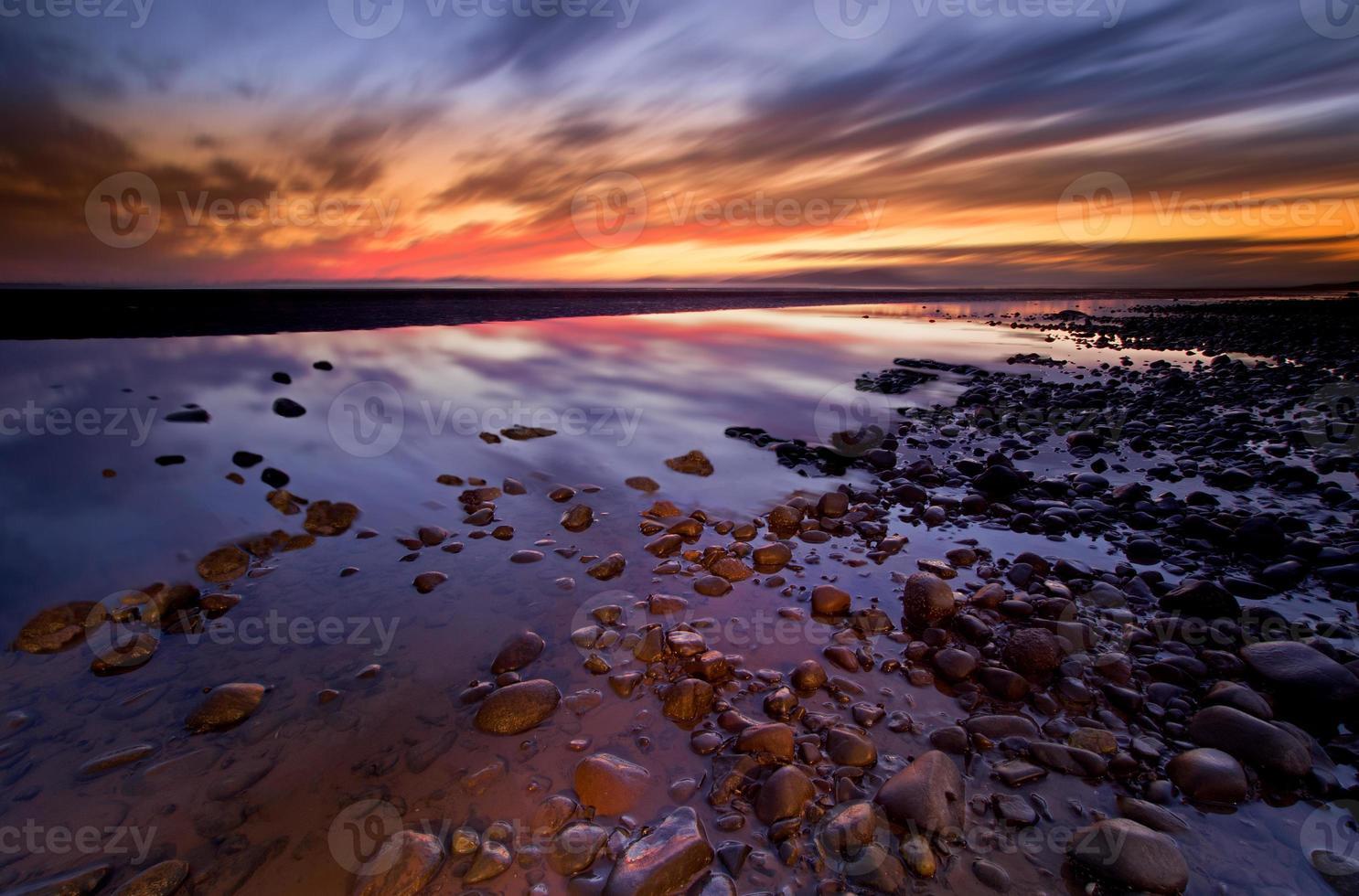 coucher de soleil allonby photo