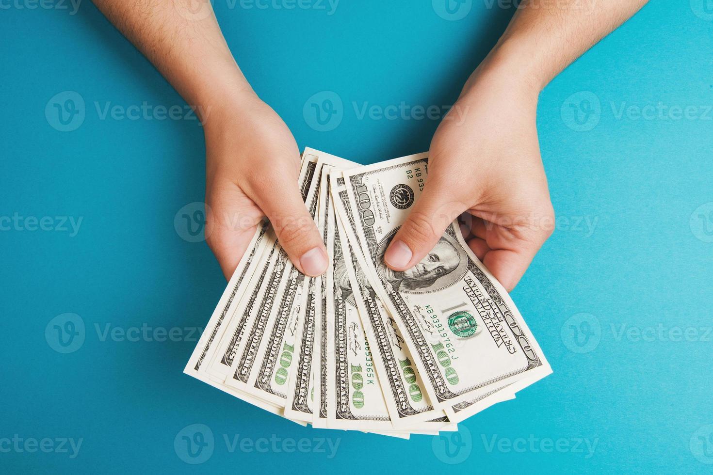 compter de l'argent photo