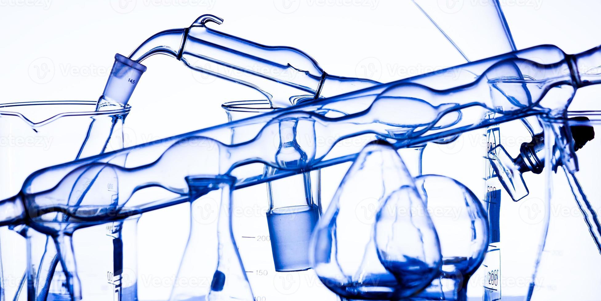verre de laboratoire photo
