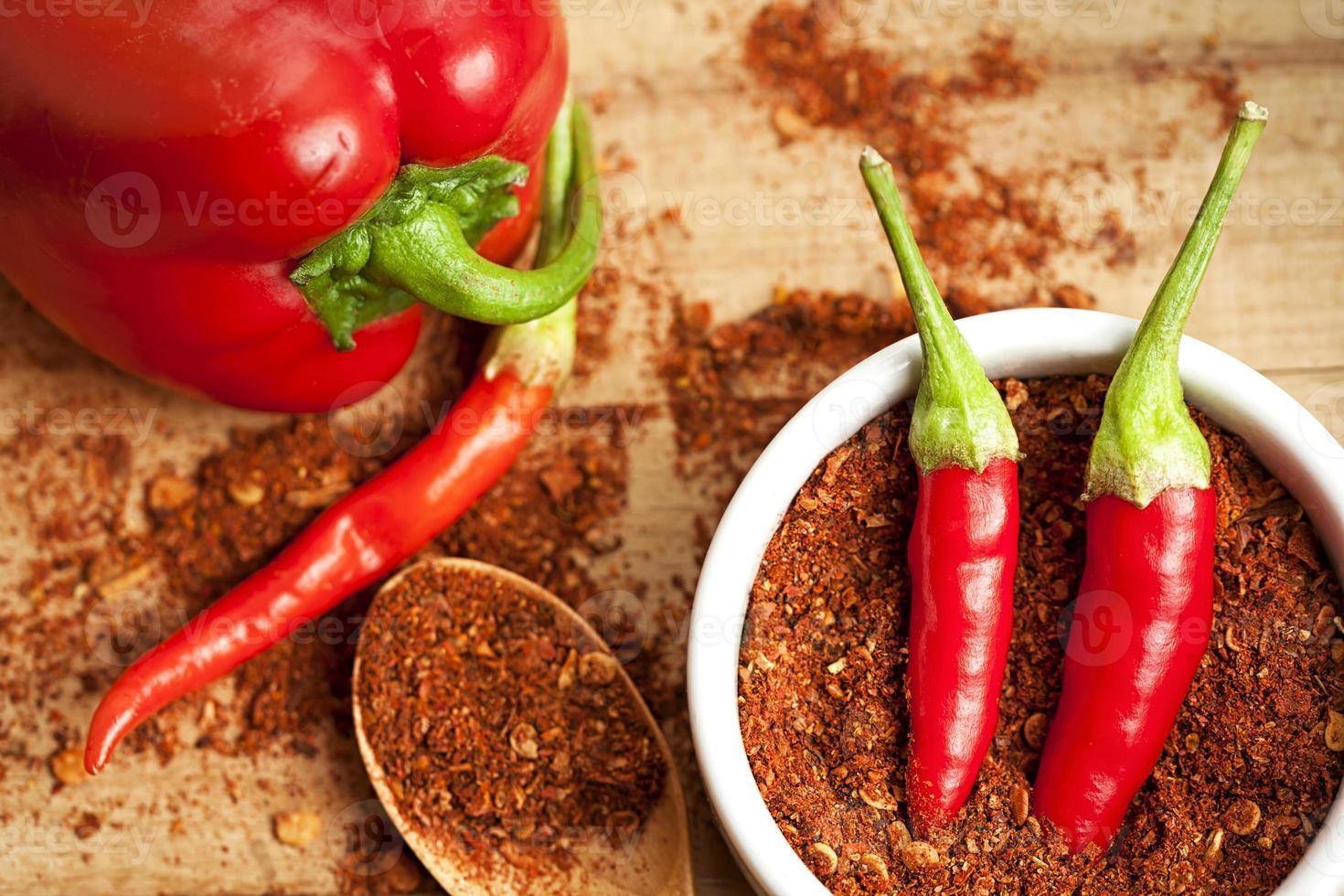 épices poivre de Cayenne photo