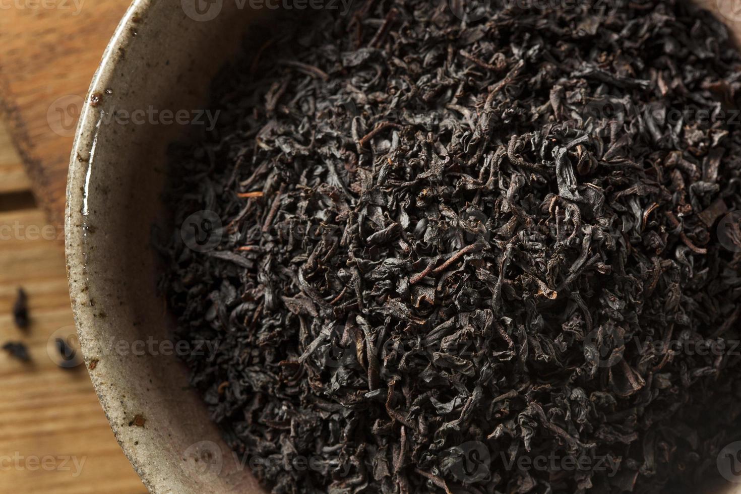 thé noir sec en vrac photo