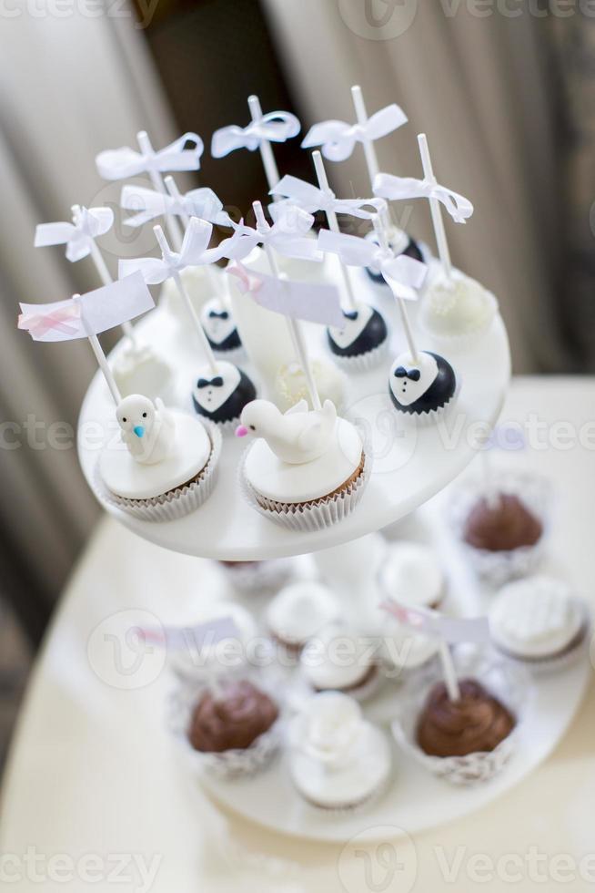 gâteaux sur le mariage photo