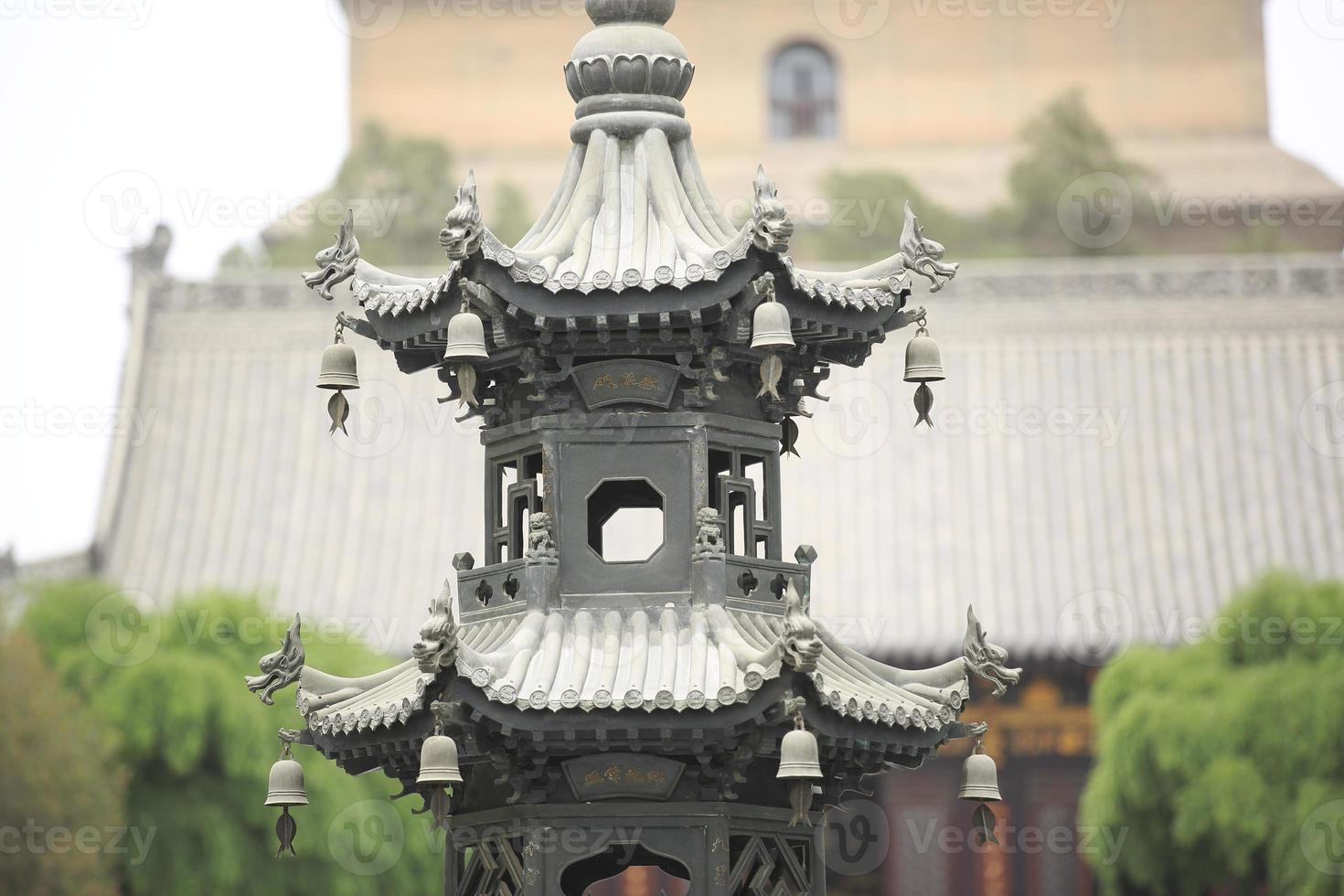 Pagode Dayan dans le temple da ci'en photo
