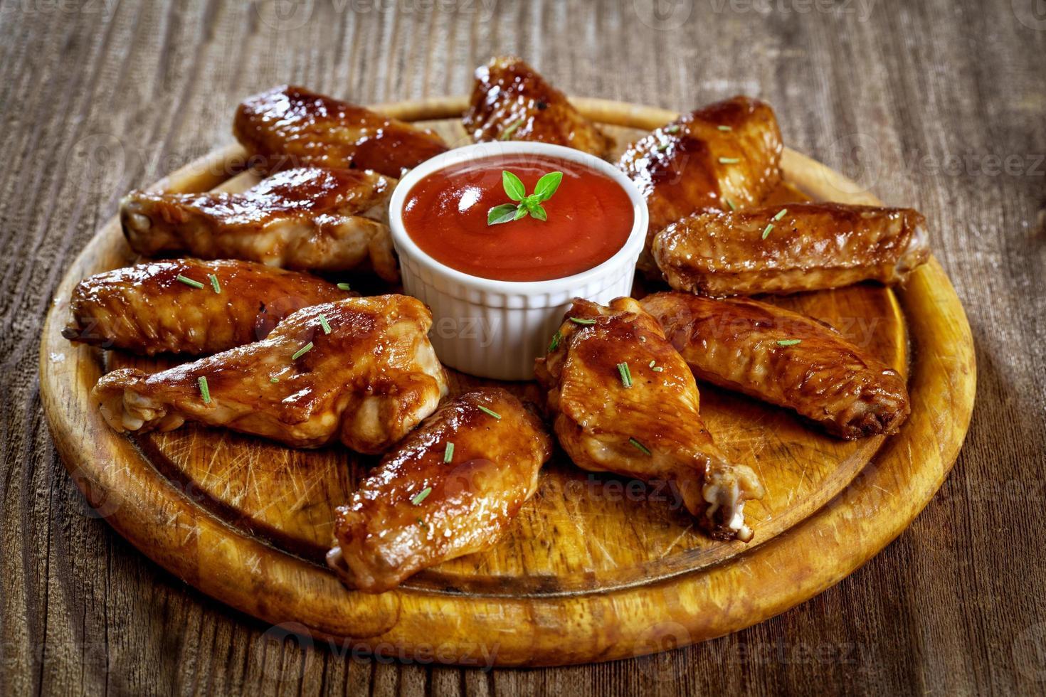 Ailes de poulet Buffalo photo