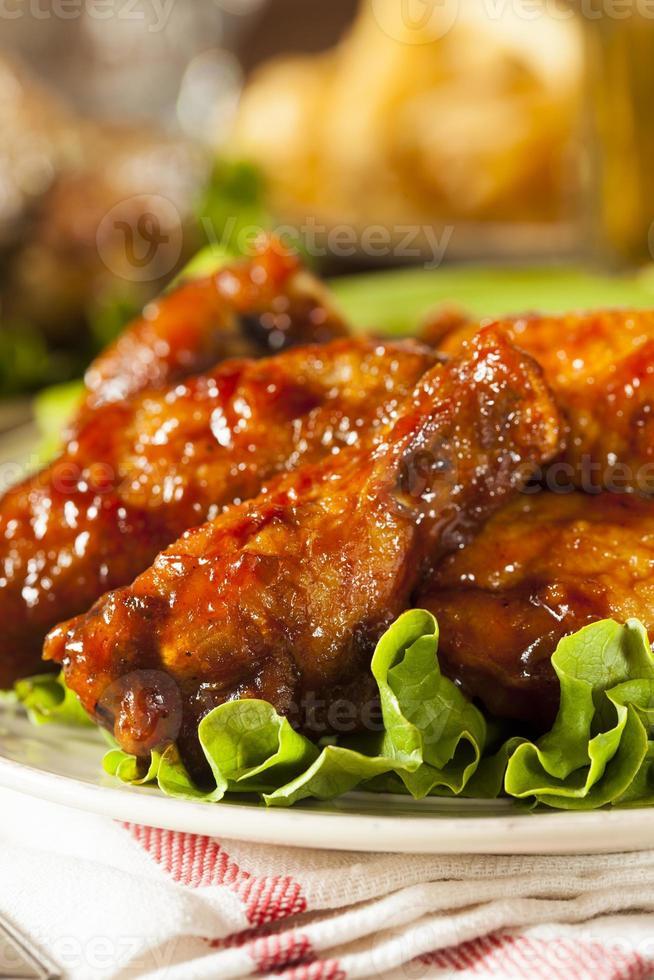 ailes de poulet buffalo barbecue photo