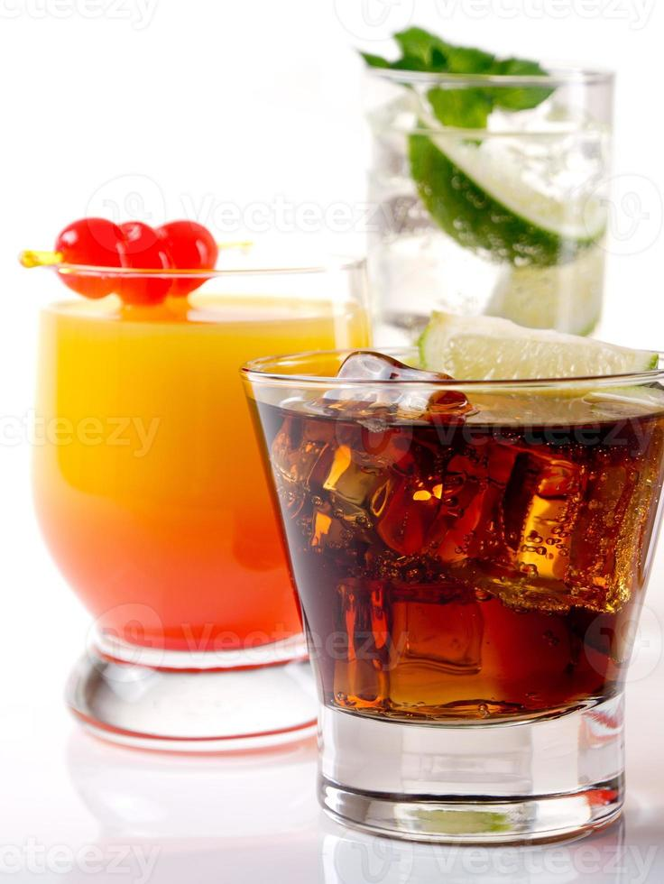 des cocktails photo