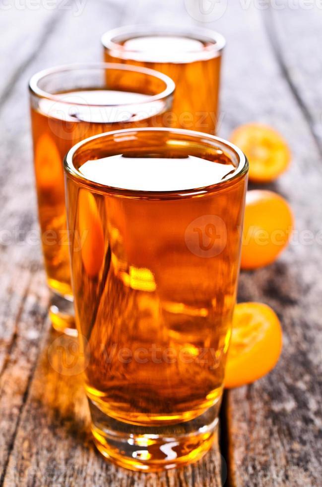 orange liquide photo
