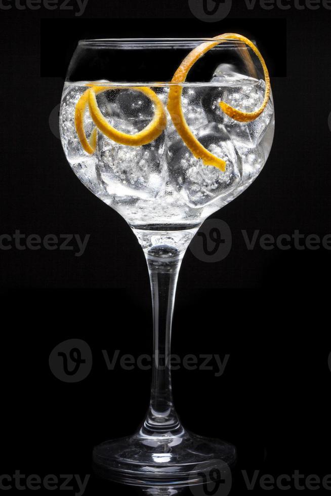 cocktail tonique au gin photo