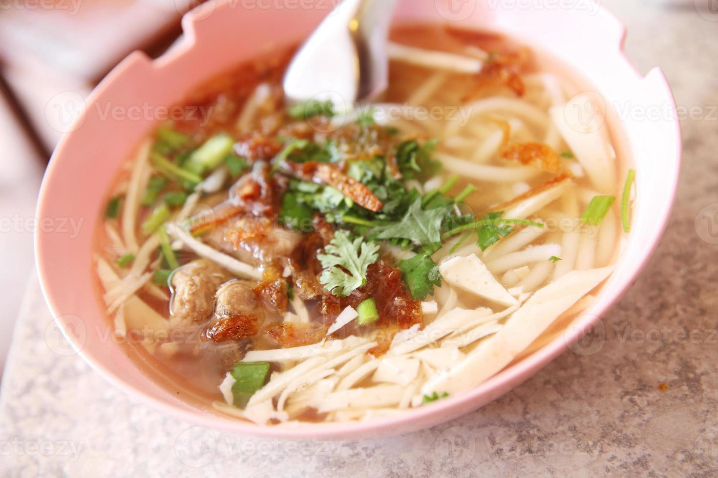 nouilles vietnamiennes photo