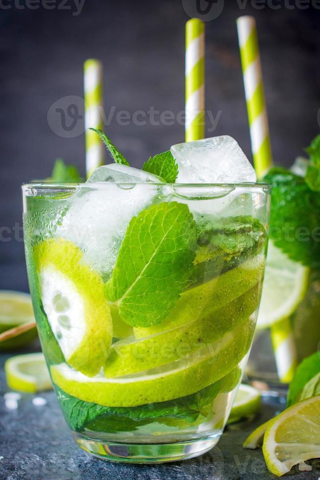 rafraîchissement au citron vert photo