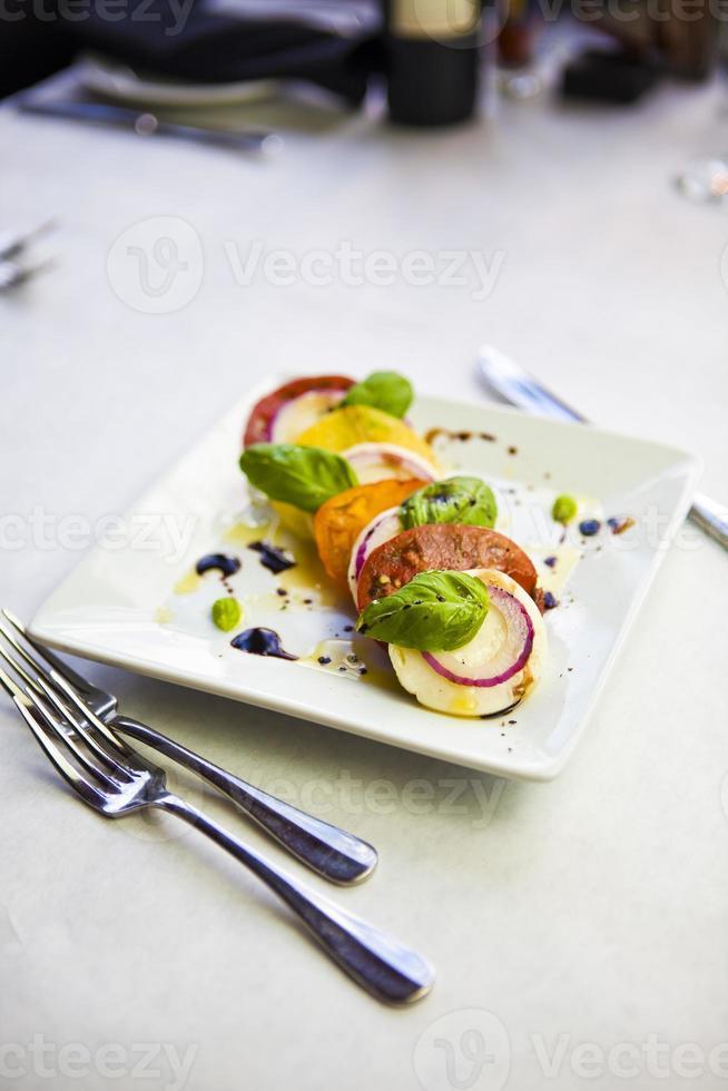 insalata caprese - salade caprese photo