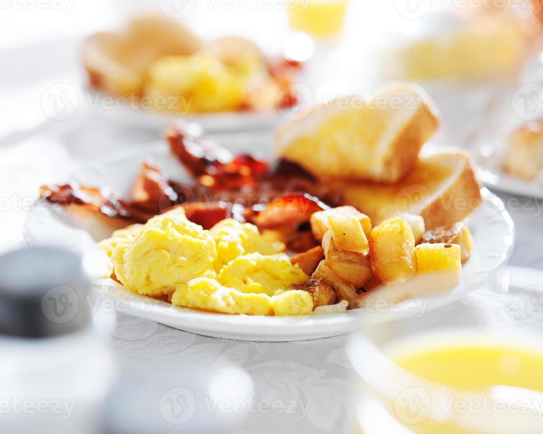 petit-déjeuner complet photo
