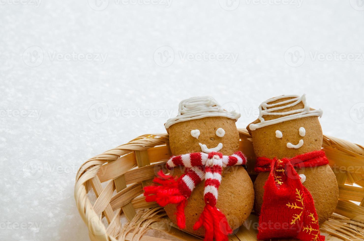 bonhomme de neige au four photo