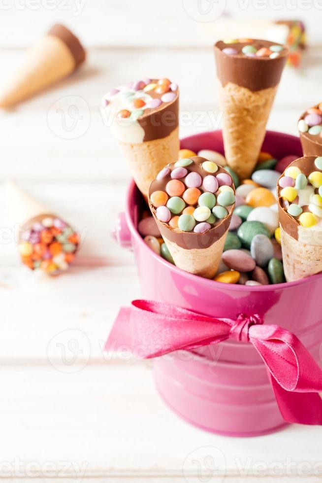 crème glacée sucrée photo