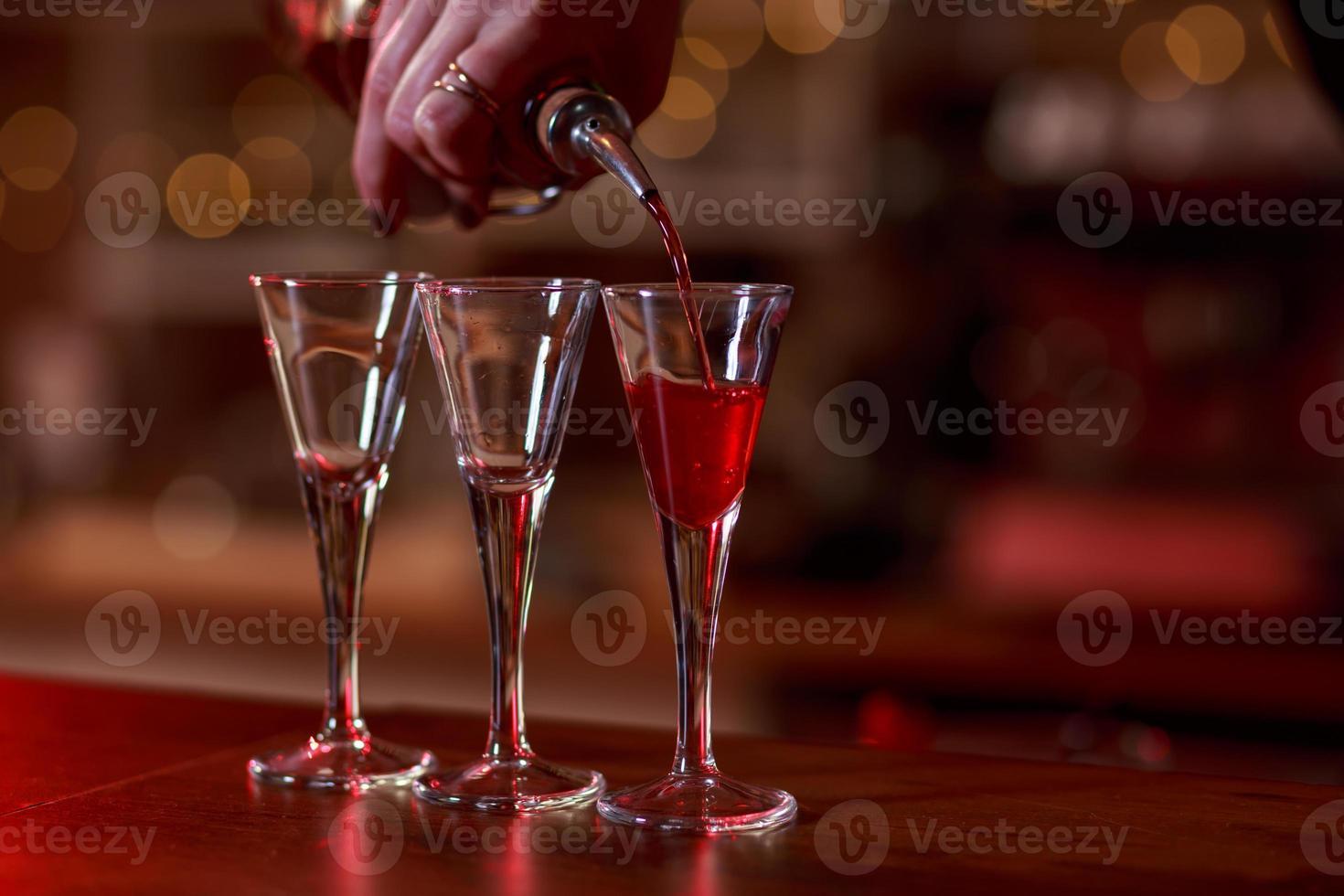 boisson gazeuse versée photo