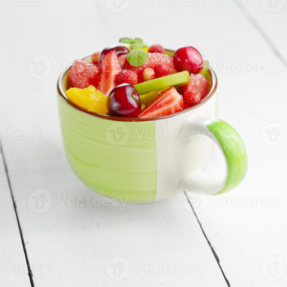 tasse de fruits photo