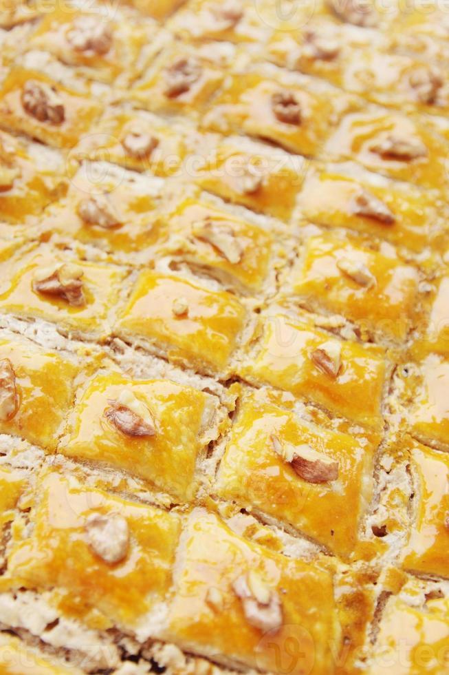 baklava dessert photo