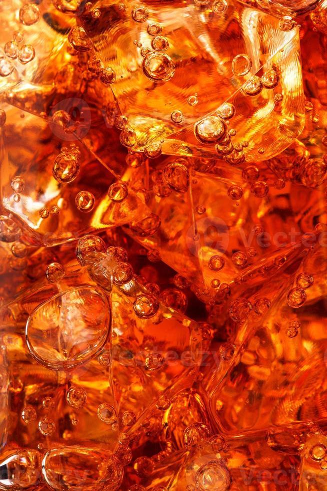 glace avec cola photo