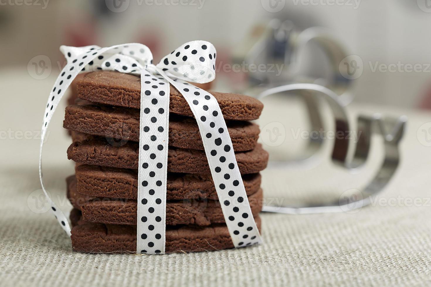 délicieux biscuits au chocolat photo