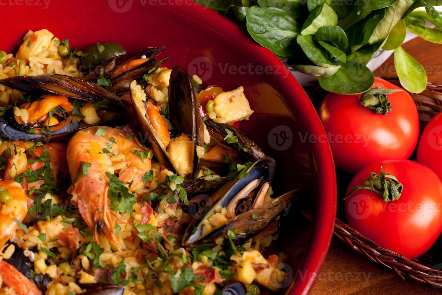 traditions espagnoles - paella photo