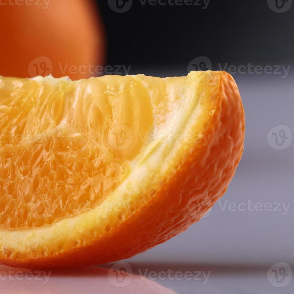 gros plan d'orange lobu; e photo