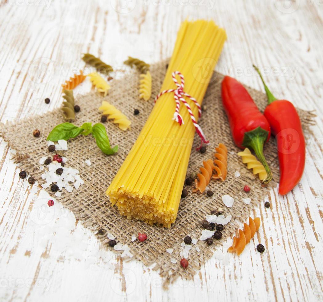 ingrédients italiens photo