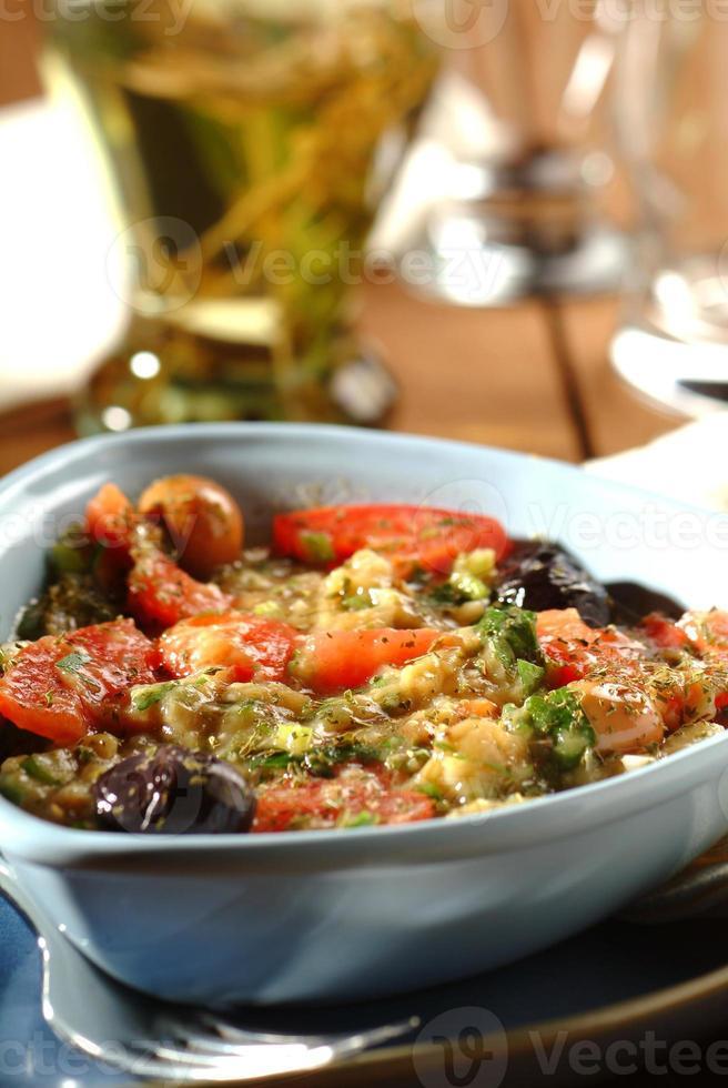 salade d'aubergine photo