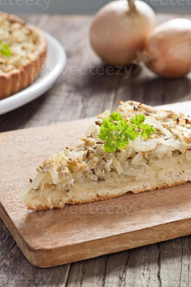 tarte aux oignons photo