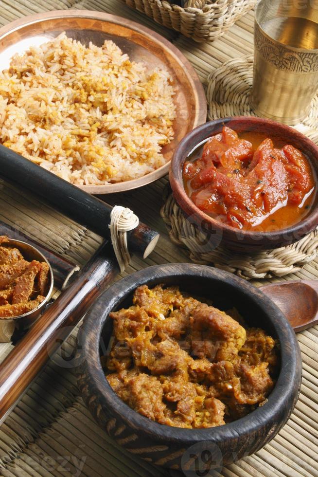 chou kofta curry - un plat mughalien photo