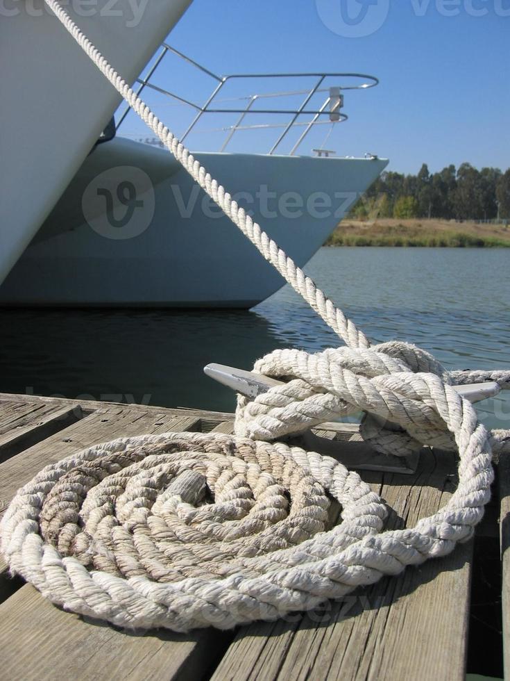 corde pour voilier photo
